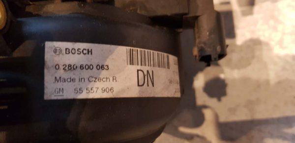 Opel Corsa D szívósor