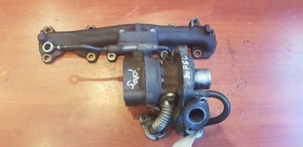 Opel Corsa D turbófeltöltő