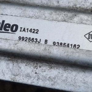 Opel Vivaro A intercooler hűtő