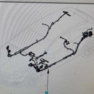 Opel Astra H GTC karosszéria fő kábelköteg