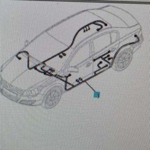 Opel Astra H karosszéria fő kábelköteg