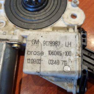 Opel Vectra C, Signum bal első ablakemelő szerkezet motor