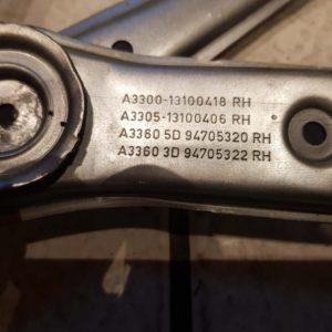 Opel Astra H jobb első elektromos ablakemelő szerkezet