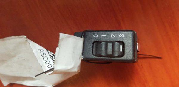 Opel Astra F fényszórómagasság állító kapcsoló