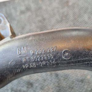 Opel Corsa C intercooler cső