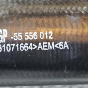 Opel Astra H intercooler cső