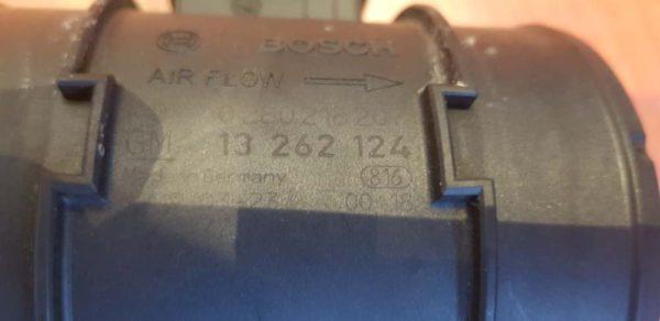 Opel Insignia A, Meriva B légtömegmérő