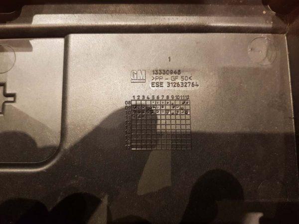 Opel Insignia A akkumulátor fedél