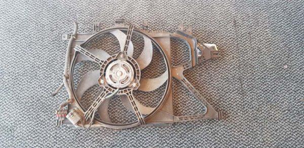 Opel Combo C, Corsa C, Tigra B vízhűtő ventilátor