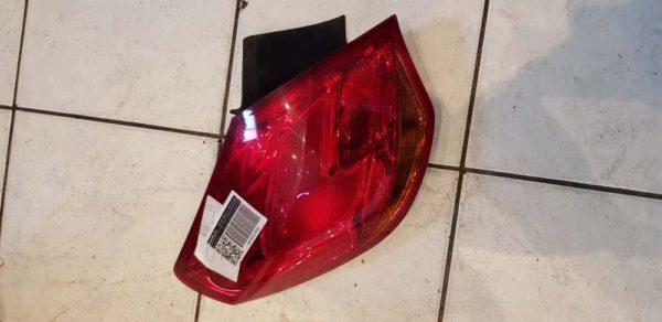 Opel Astra J bal hátsó lámpa