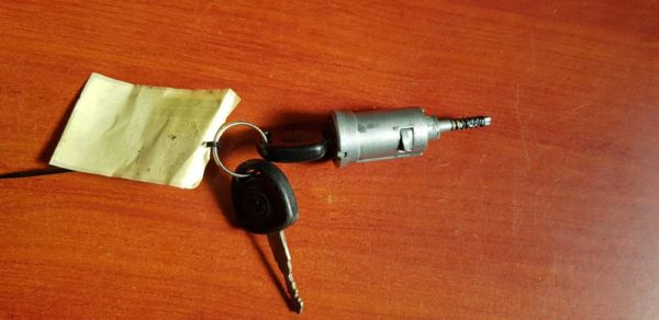 Opel Agila A gyújtáskapcsoló zárbetét