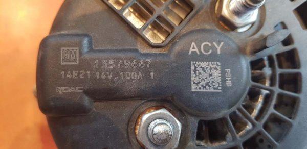 Opel Astra J, Insignia A generátor
