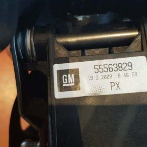 Opel Astra J, Cascada, Insignia A váltókar – manuális