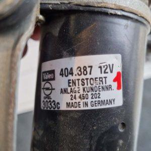 Opel Astra G első ablaktörlő szerkezet motorral
