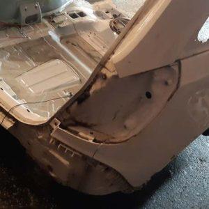Opel Antara vágott karosszéria hátulja