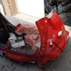 Opel Agila B vágott karosszéria hátulja