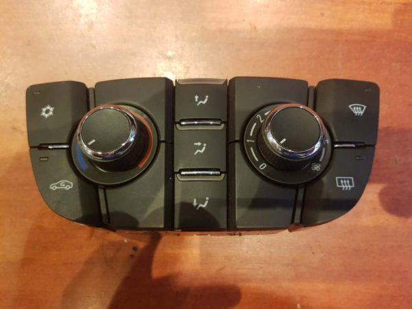 Opel Astra J, Cascada, Meriva B fűtés / hűtés kapcsoló modul / klíma vezérlő panel