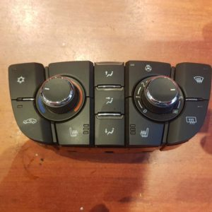 Opel Astra J fűtés / hűtés kapcsoló modul / klíma vezérlő panel