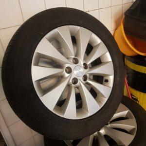 Opel Antara alufelni garnitúra gumival