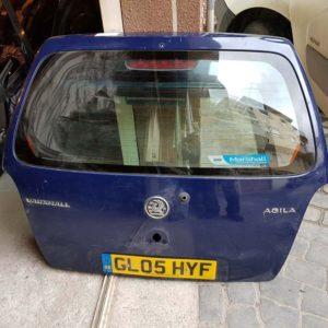 Opel Agila A csomagtérajtó