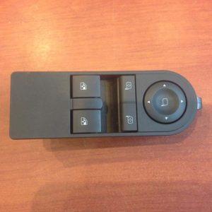 Opel Astra H, Zafira B ablakemelő és tükörállító kapcsoló