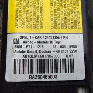 Opel Astra H függönylégzsák jobb