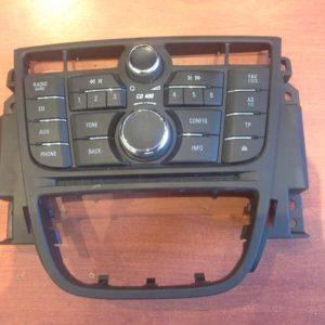 Opel Meriva B autórádió / CD fejegység kezelőpult