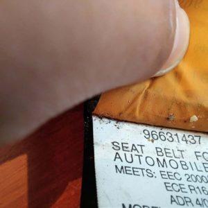 Opel Antara bal első biztonsági öv