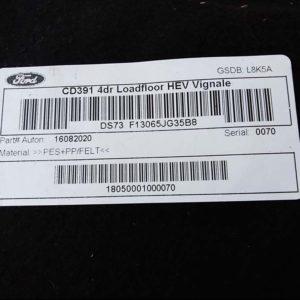 Ford Mondeo V 2.0 Hybrid csomagtér kárpit