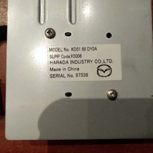 Mazda 6 kombi antenna
