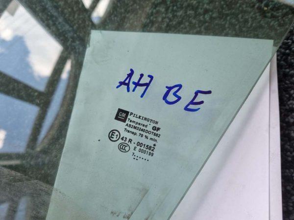 Opel Astra H bal első ajtóüveg