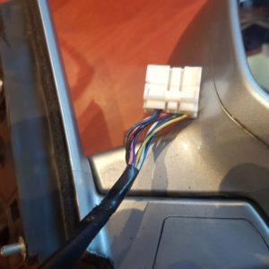 HONDA CR-V III jobb elektromos visszapillantó tükör
