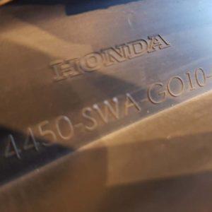 HONDA CR-V III bal hátsó sárvédő díszléc