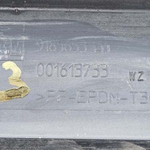 Opel Vectra C bal küszöb spoiler