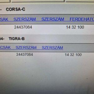 Opel Tigra B, Corsa C emelő