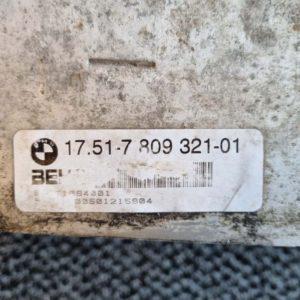BMW X5 (E70) intercooler hűtő
