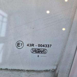 Opel Agila B bal első ajtóüveg
