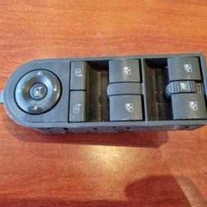 Opel Astra H, Zafira B bal első ablakemelő és tükörállító kapcsoló