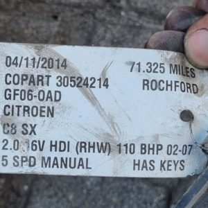 Citroen C8 hűtőszett
