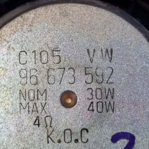 Opel Antara jobb hangszóró első – hátsó
