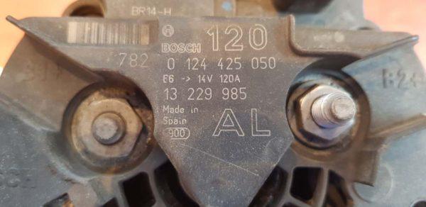Opel Astra H, Meriva A, Zafira B generátor
