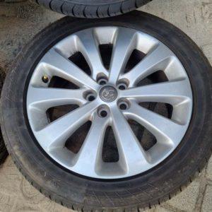 Opel Astra J alufelni garnitúra gumival