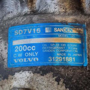 Volvo C30, C70, S40, V50 klímakompresszor