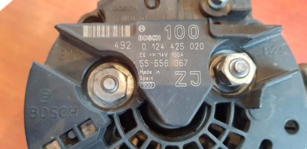 Opel Astra G, Astra H, Meriva A, Zafira B generátor
