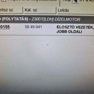 Opel Vectra C, Signum kipufogó leömlő