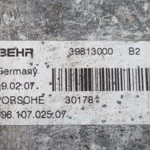 Porsche Boxster olajhűtő