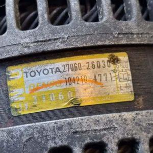 Lexus IS II generátor