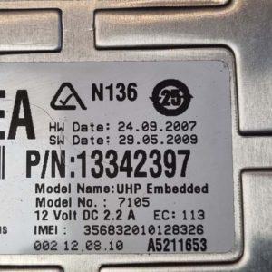 Opel Astra J, Insignia A, Meriva B, Mokka, Zafira C, Cascada, Ampera telefonvezérlő modul