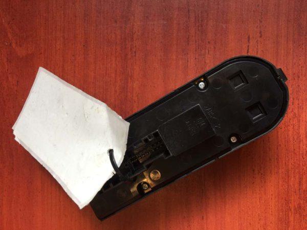 Astra H, Zafira B ablakemelő és tükörállító kapcsoló