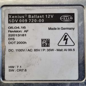 Opel Astra J, Insignia A xenon gyújtótrafó